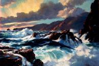 #102 Big Sur 18x24 Oil