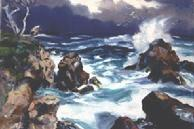 #46 Point Lobos Surf 16x20 Oil
