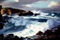 #88 Heavy Seas Brandon Oregon 24x36 Oil